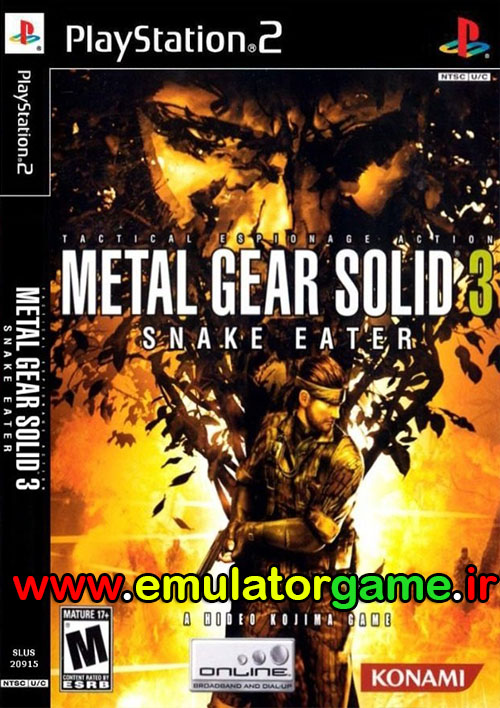 ps2 metal gear solid 3